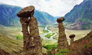 Каменные грибы – Урочище Аккурум (15 фото)