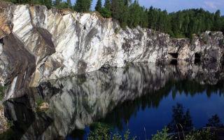Мраморный каньон Рускеала (25 фото)