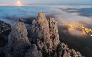 Гора Ай-Петри — место притяжения гостей Крыма