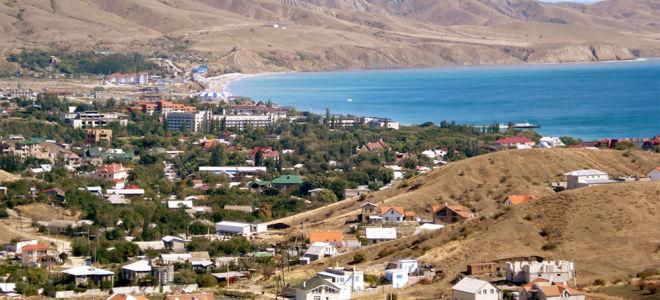 Поселок Коктебель – Крым (33 фото)