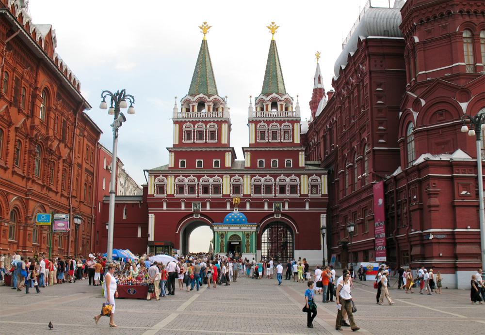 Главные ворота Кремля