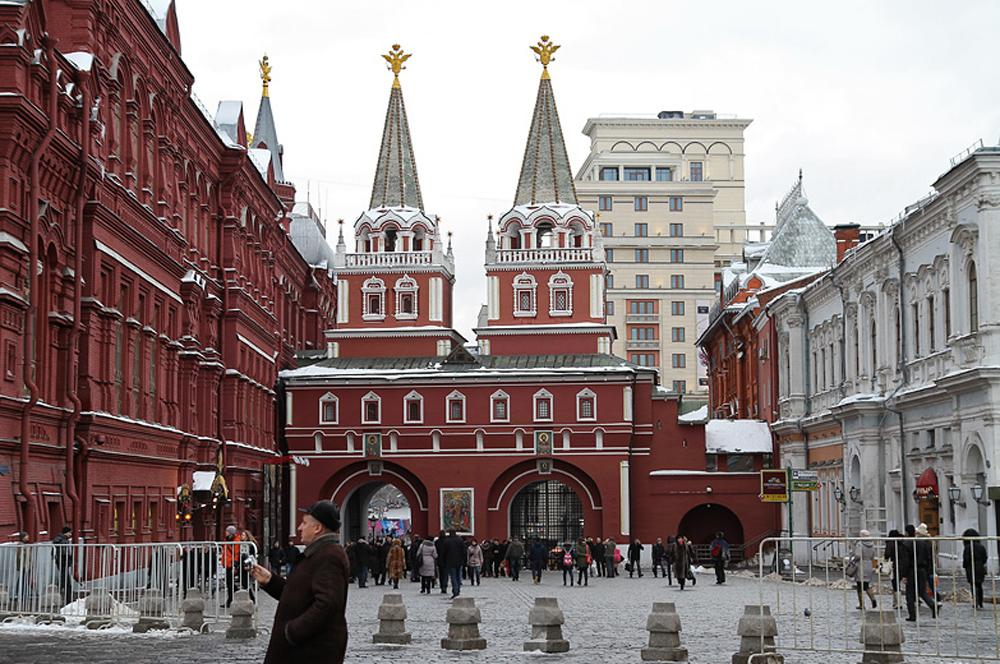 Главные ворота Кремля фото