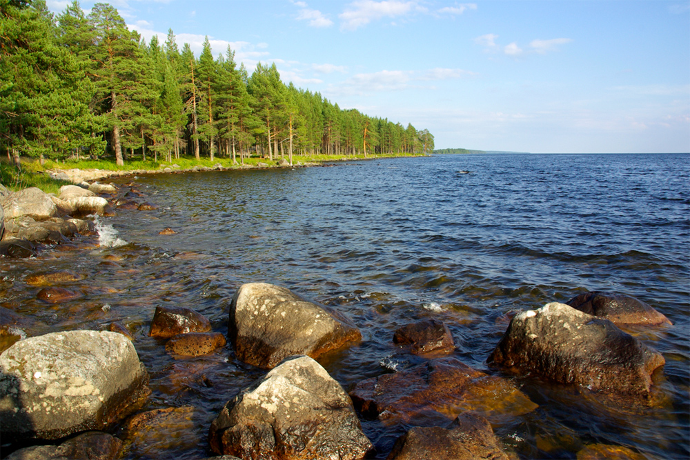 Онежское озеро фото