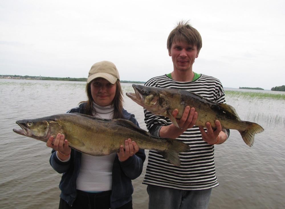 семейная рыбалка