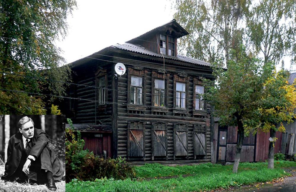 дом Вячеслава Тихонова