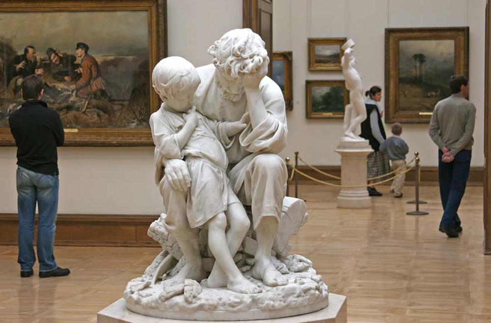красивая статуя фото