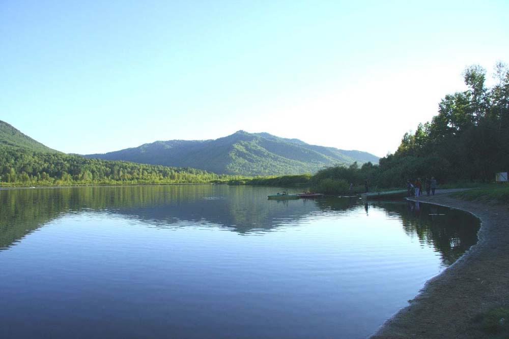 зеркало озера Манжерок