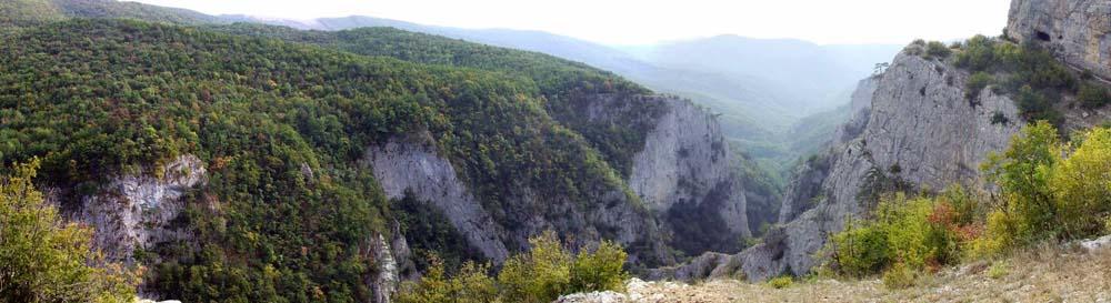 панорама каньона