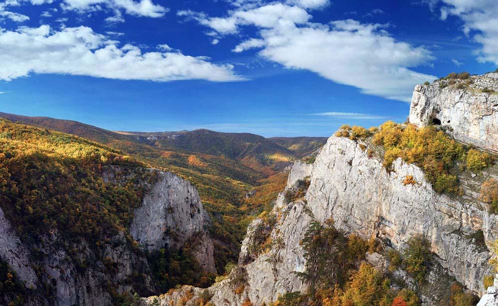 вид с горы Бойко