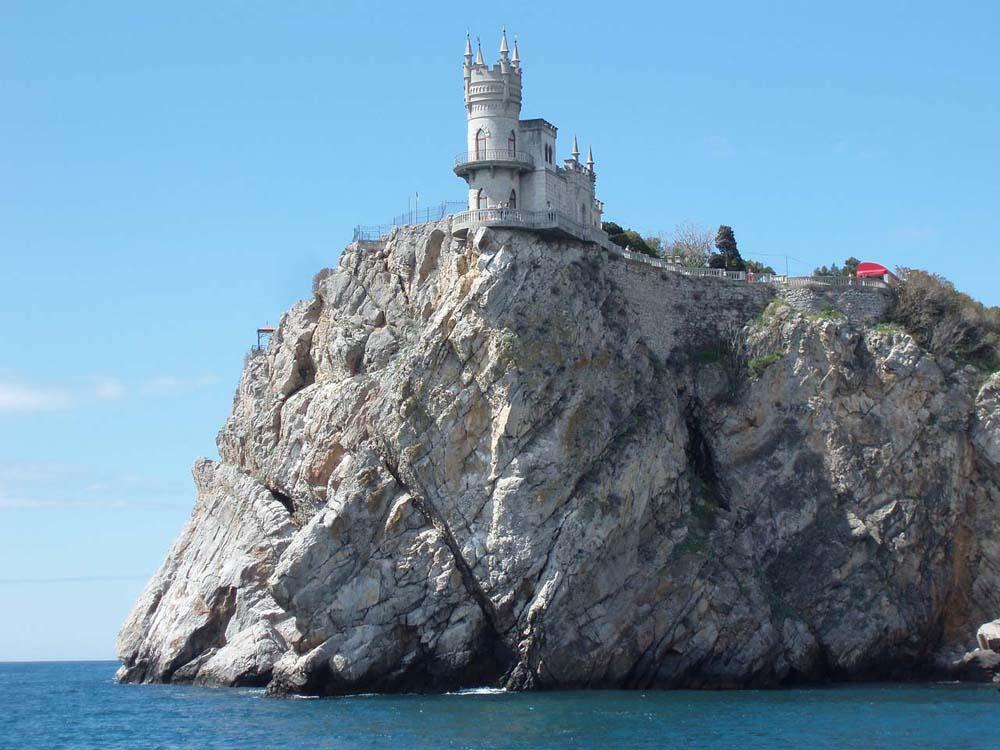"""замок """"Ласточкино гнездо"""""""