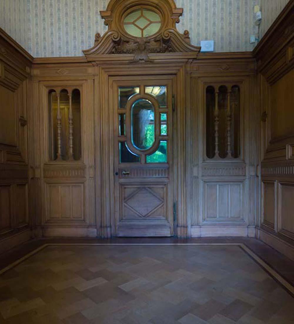 вход в женскую часть дворца