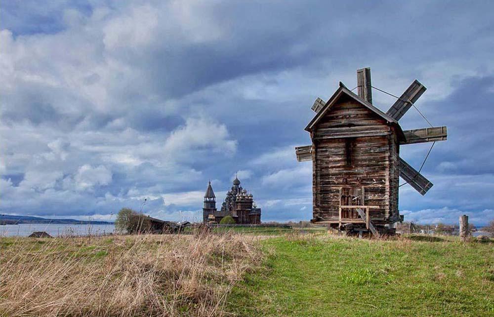 Ветряная мельница 1886 г