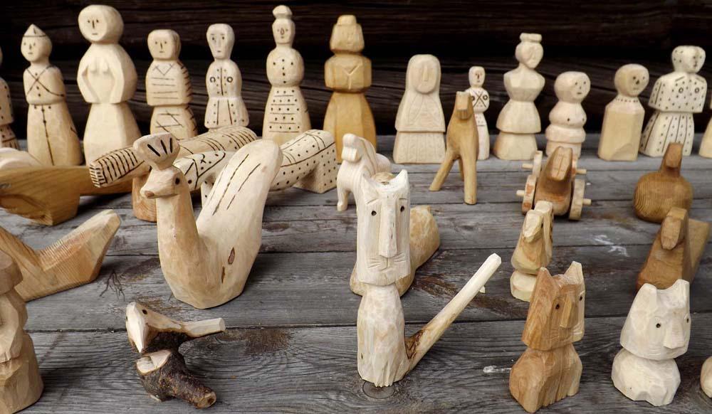 сувениры, изготовленные мастерами