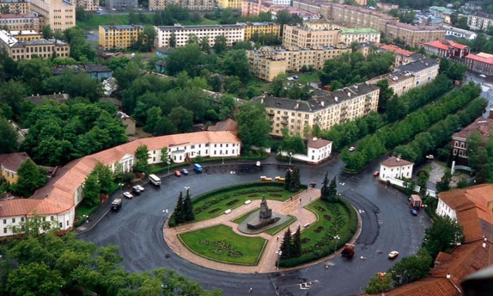 панорама Петразаводска