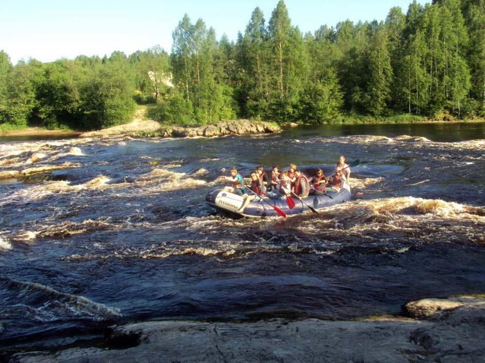 сплав по реке Шуя