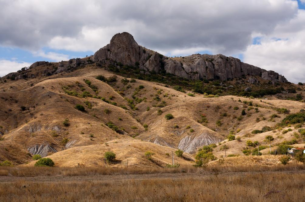 вид гор в заповеднике