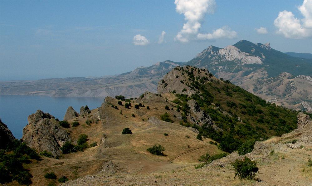 красивый пейзаж в Крыму