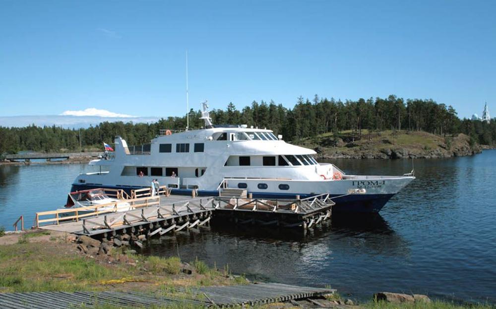 водный транспорт Ладожского озера