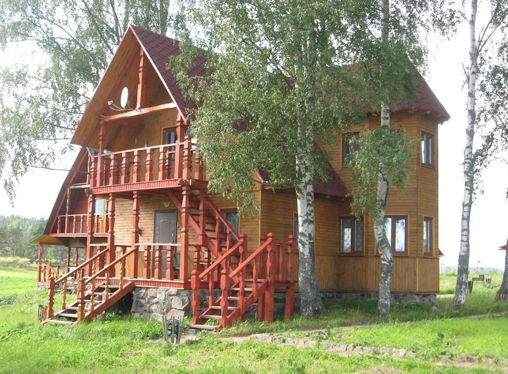домик для отдыха на Ладожском озере