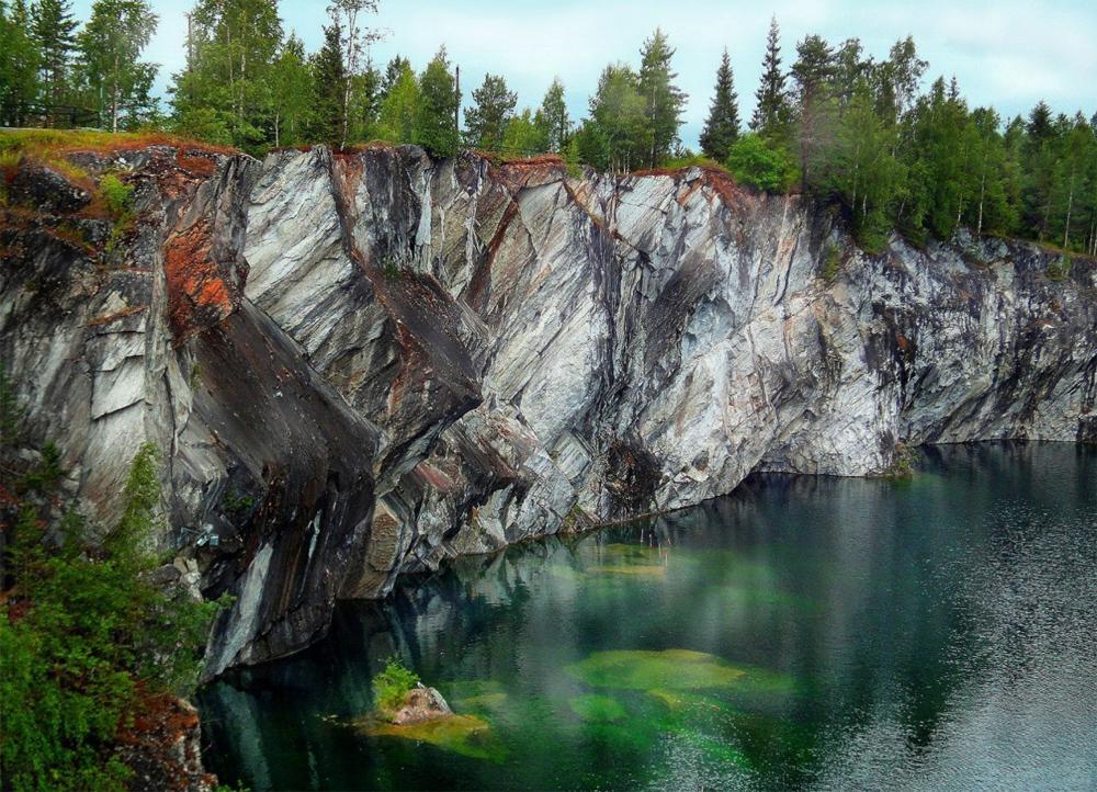 Мраморный каньон Рускеала фото