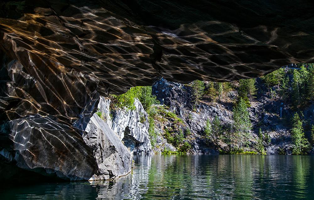 отражение водного рисунка