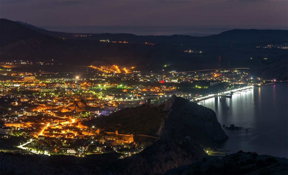 город ночь