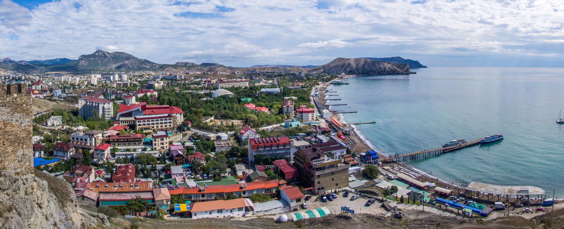 Судак город в Крыму