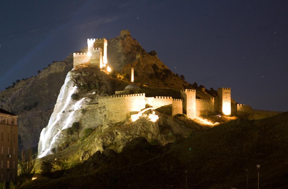Генуэзская крепость во всей красе