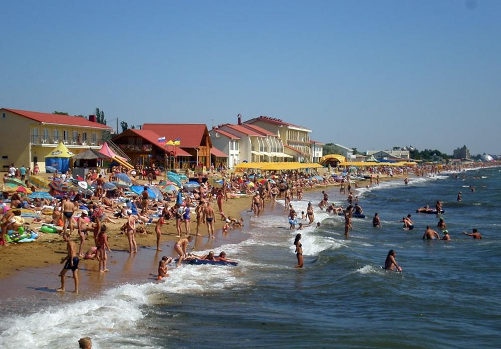 Отдых в Феодосии на пляже