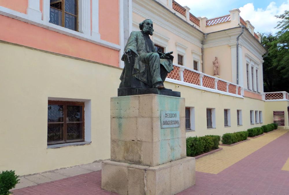 памятник айвазовского в феодосии