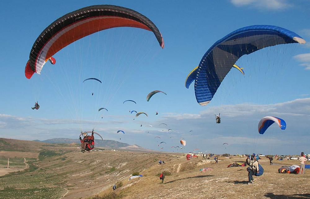 полеты с парашютом