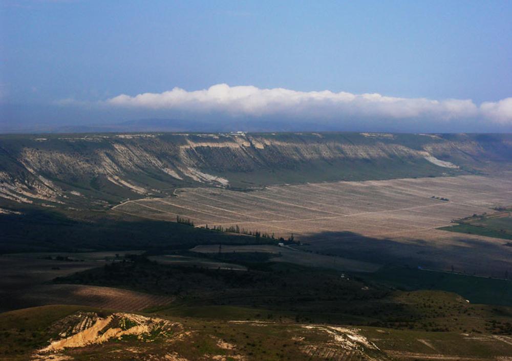 красивый вид гор Феодосии
