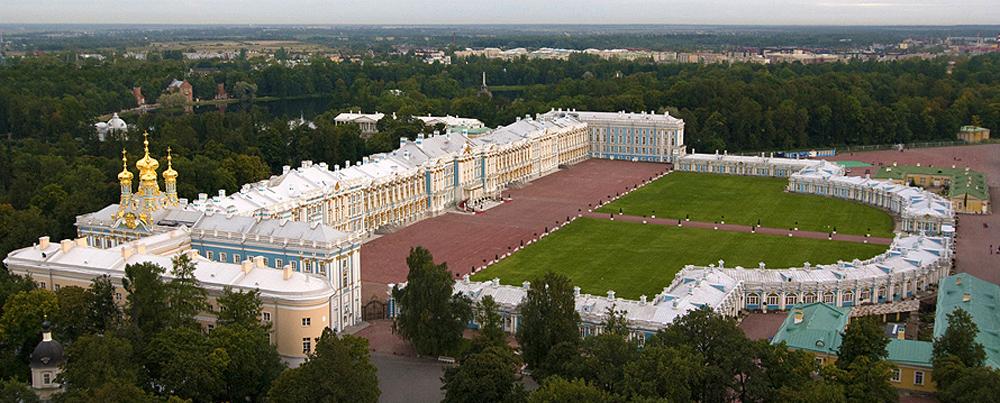 Екатерининский дворец масштабный вид