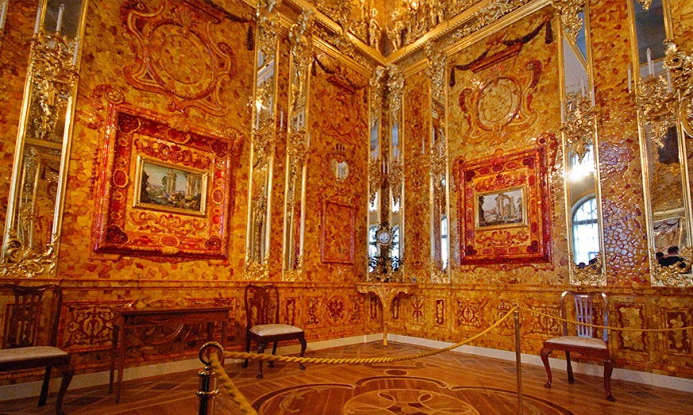 Янтарная комната во всей красе