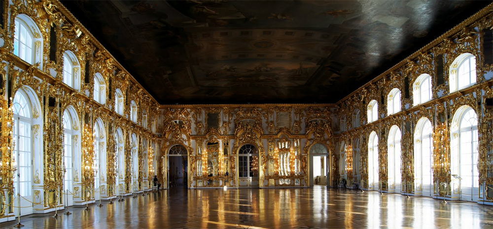 Екатерининский дворец Тронный зал