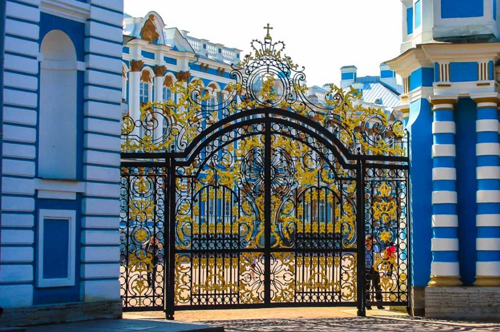 Екатерининский дворец ворота