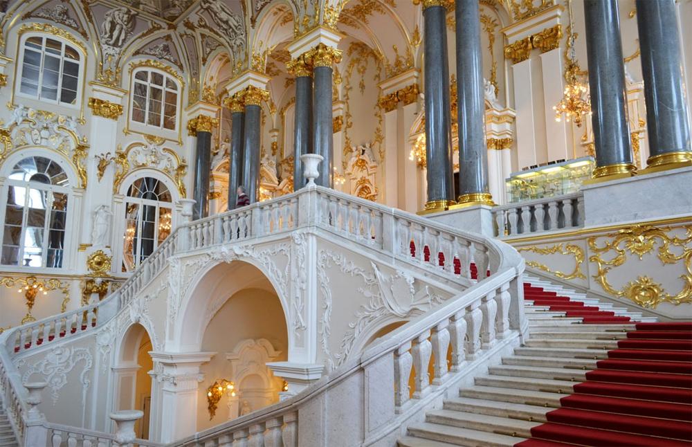 богатая лестница