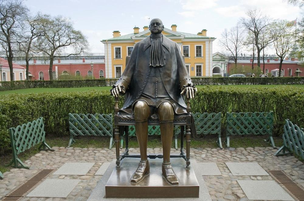 Восковая скульптура Петра I