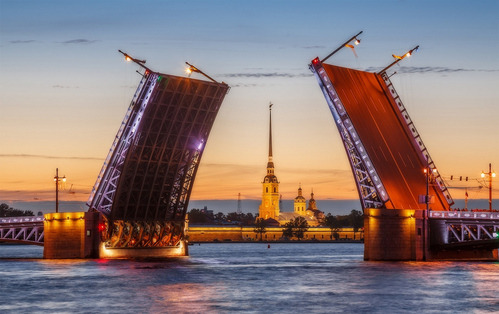 Дворцовый мост фото