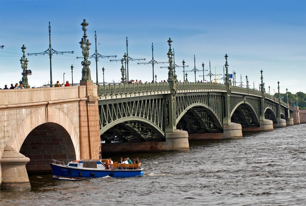 вид моста с боку