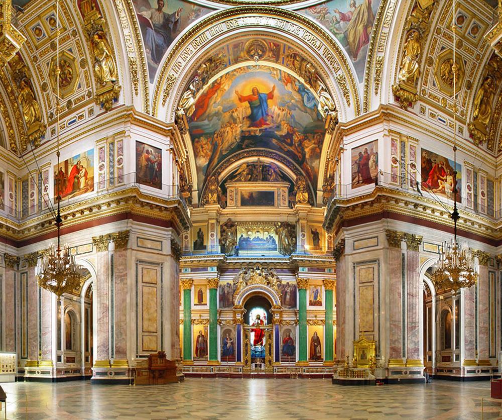 Исаакиевский собор. Внутреннее убранство | Санкт-Петербург Центр | 836x1000