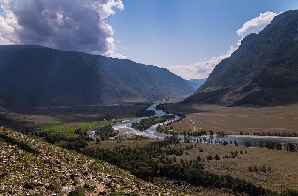 берег реки Чулышман
