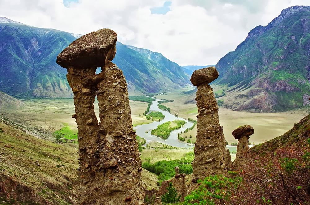 Каменные грибы – Урочище Аккурум