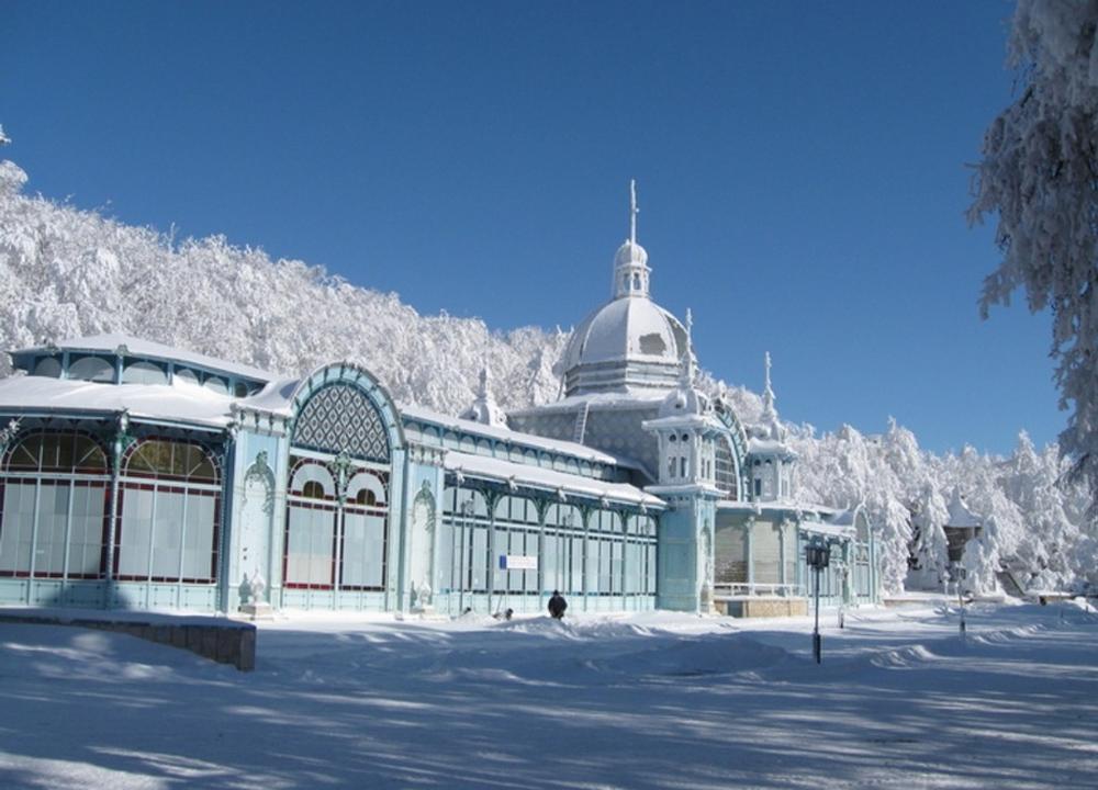 пушкинская галерея зимой