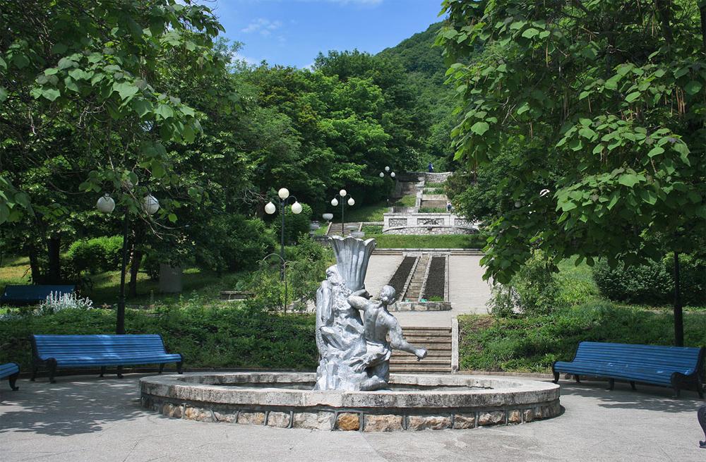 Железноводск каскадная лестница