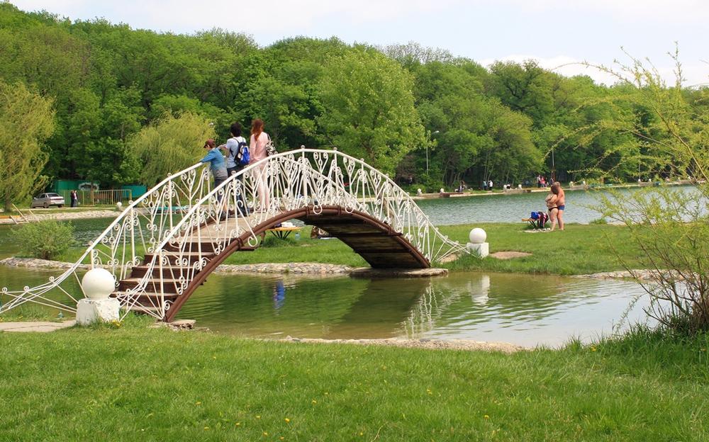 мостик для туристов