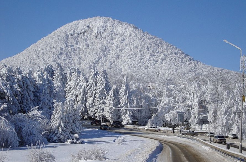 Железноводск в снегу