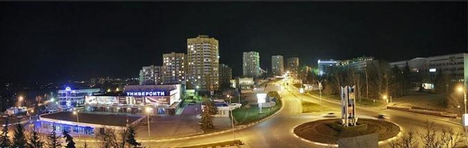 Железноводск ночью