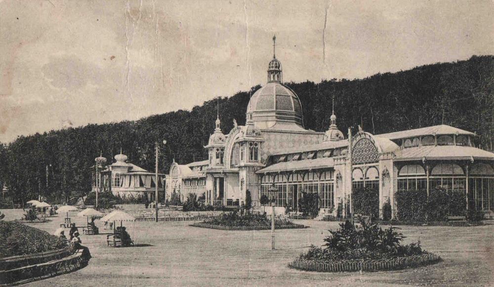 старое фото Пушкинской галереи