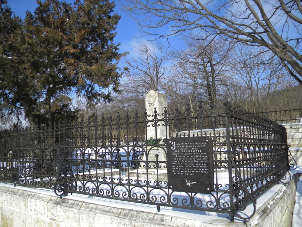 Первоначальное захоронение М. Ю. Лермонтова в Пятигорске